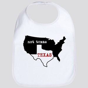 Texas / Not Texas Bib