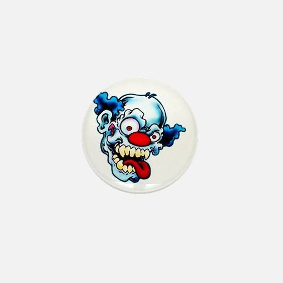 Crazy Clown Mini Button