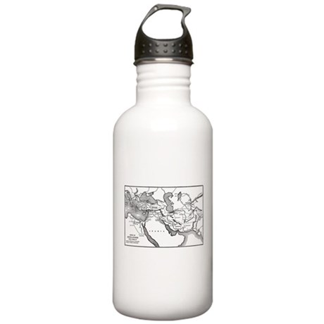 Alexander's Empire Map Stainless Water Bottle 1.0L