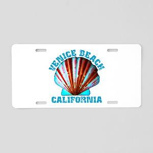 Venice Beach, California Aluminum License Plate