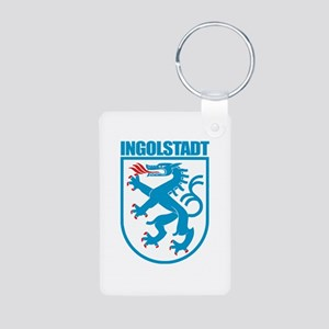 Ingolstadt Aluminum Photo Keychain