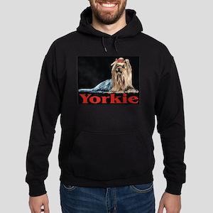 Urban Yorkie Black Hoodie (dark)
