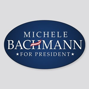 Michele Bachmann Sticker (Oval)