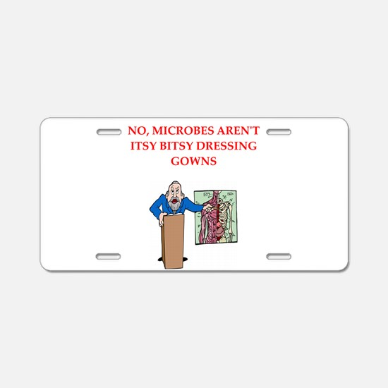 Medical School Aluminum License Plate