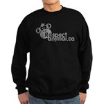 RESPECT ANIMAL LOGO - Sweatshirt (dark)