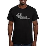 RESPECT ANIMAL LOGO - Men's Fitted T-Shirt (dark)