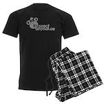 RESPECT ANIMAL LOGO - Men's Dark Pajamas