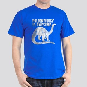 Paleontology Is Awesome Dark T-Shirt