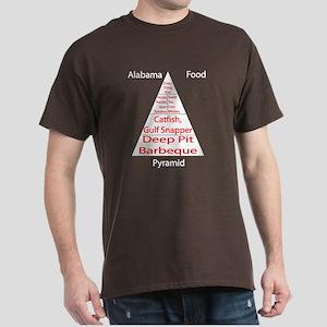 Alabama Food Pyramid Dark T-Shirt