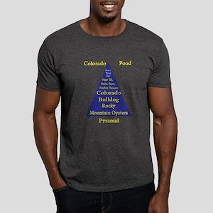 Colorado Food Pyramid Dark T-Shirt