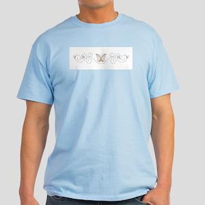 Ivory Butterflies Light T-Shirt