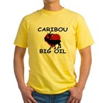 Caribou Love Big Oil Yellow T-Shirt
