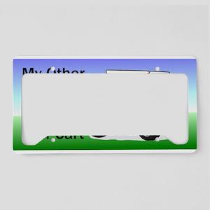 Golf cart License Plate Holder