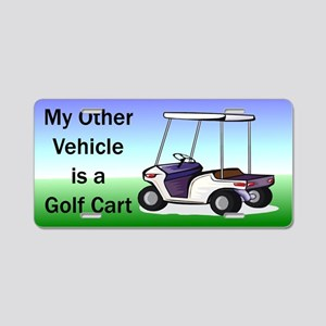 Golf cart Aluminum License Plate
