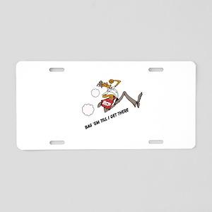 Bag 'em Aluminum License Plate