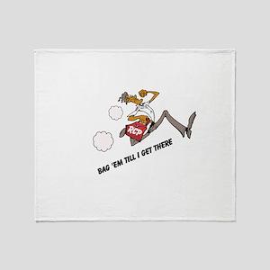 Bag 'em Throw Blanket