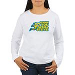 Damn You Scuba Steve Women's Long Sleeve T-Shirt