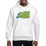 Damn You Scuba Steve Hooded Sweatshirt