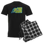Damn You Scuba Steve Men's Dark Pajamas