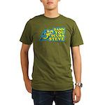 Damn You Scuba Steve Organic Men's T-Shirt (dark)