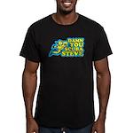 Damn You Scuba Steve Men's Fitted T-Shirt (dark)