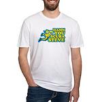 Damn You Scuba Steve Fitted T-Shirt