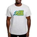 Damn You Scuba Steve Light T-Shirt