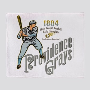 Providence Grays Throw Blanket