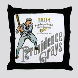 Providence Grays Throw Pillow