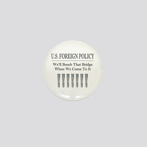 Foreign Policy Mini Button
