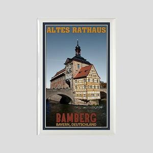 Bamberg Altes Rathaus Rectangle Magnet