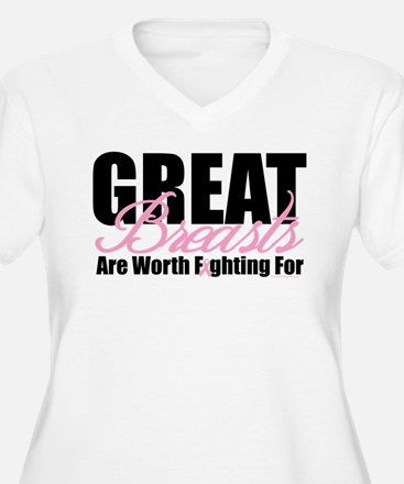 Great Breasts Are Worth Fight T-Shirt