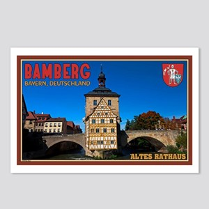 Bamberg Altes Rathaus L Postcards (Package of 8)