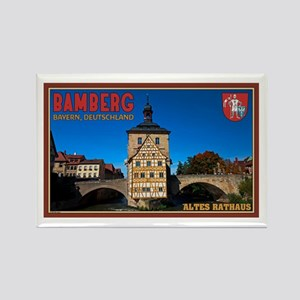 Bamberg Altes Rathaus L Rectangle Magnet
