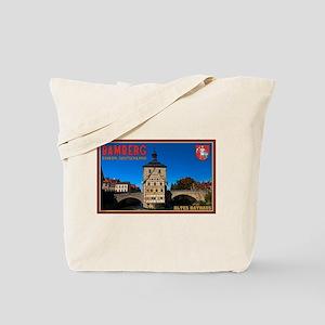 Bamberg Altes Rathaus L Tote Bag