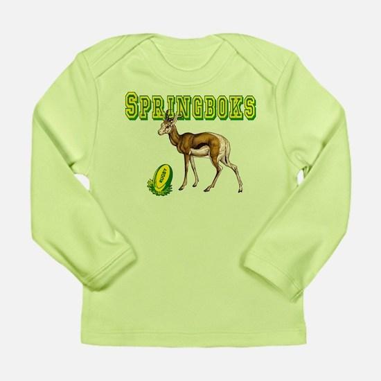 Springboks Rugby Long Sleeve Infant T-Shirt