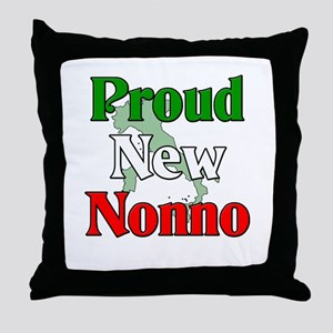 Proud New Nonno Throw Pillow