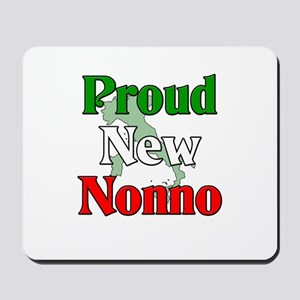 Proud New Nonno Mousepad