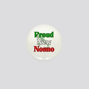 Proud New Nonno Mini Button