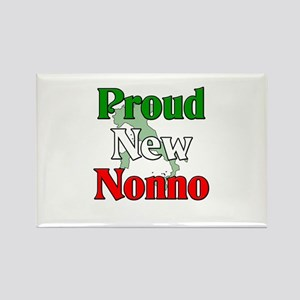 Proud New Nonno Rectangle Magnet