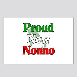 Proud New Nonno Postcards (Package of 8)