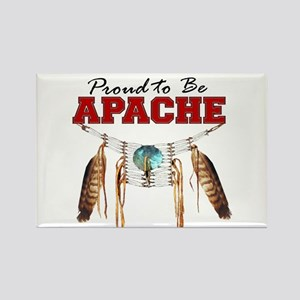 Proud to be Apache Rectangle Magnet