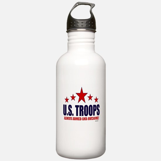 U.S. Troops Always Arm Water Bottle