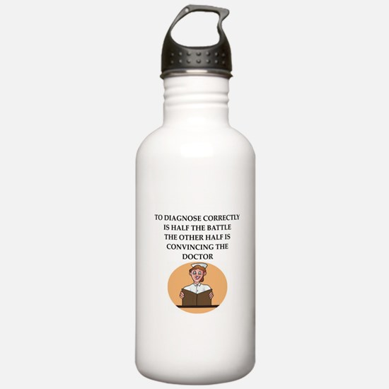 nursing Water Bottle