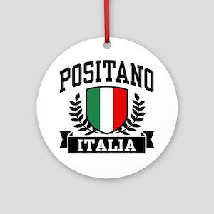 Positano Italia Ornament (Round)