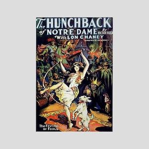 Hunchback of Notre Dame Rectangle Magnet