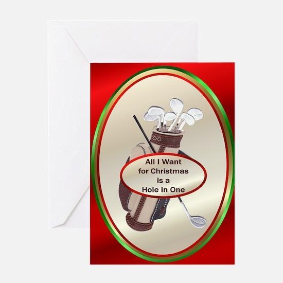 Golf Christmas Cards