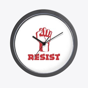 Resist Wall Clock