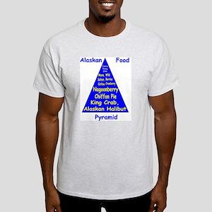 Alaskan Food Pyramid Light T-Shirt