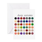 color analysis card deep autumn
